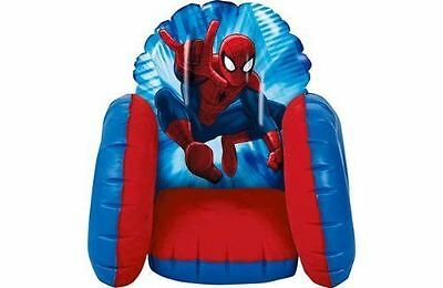 Spiderman Toddler Chair Kids Boys Inflatable Cosy..brand new