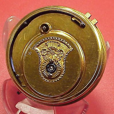 EARLY 45MM LITHERLAND & CO. LIVERPOOL RACK LEVER Fusee Pocket Watch Movement