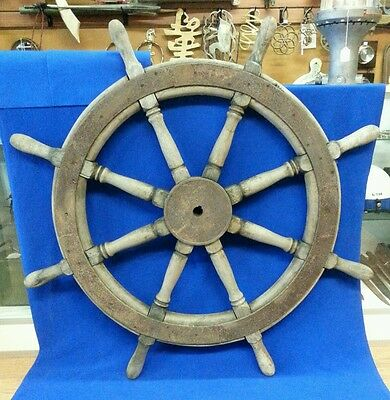 Antique Ships Helm Steering Wheel 47.75""
