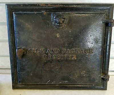Antique Cast Iron Majestic Co Milk & Package Receiver Door