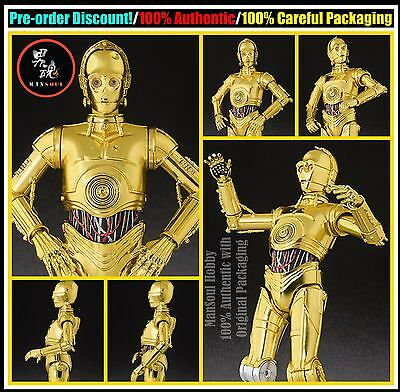 MSH Pre Order NEW Bandai S.H.Figuarts Star Wars C-3PO A NEW HOPE Action Figure