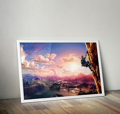 Legend of Zelda Breath of the Wild Art poster 24 x 36 inches FAST USA SHIPPING