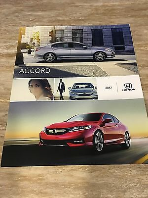 2017 HONDA ACCORD 22-page Original Sales Brochure