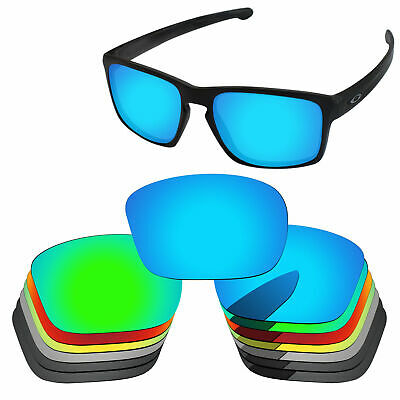 PapaViva Polarized Replacement Lenses For-Oakley Sliver Sunglass Multi-Options