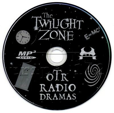 The TWILIGHT ZONE - Old Time Radio (OTR) Complete 176 Shows (mp3 DVD)