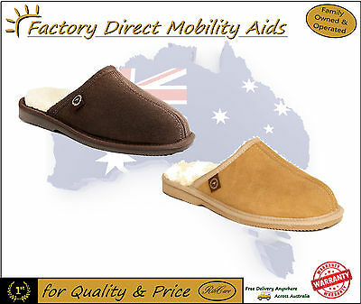 Genuine Ugg Australia Ugg Ian Scuff Scuffs 100% Australian made! Wool NEW