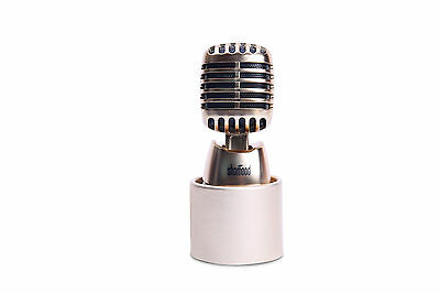 Car &Home Air Freshener Auto Fragrance Aroma Cute Customize Microphone Champagne