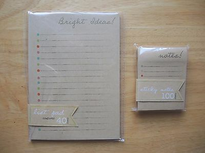 Target One Spot Kraft To Do List Planner & Sticky Notes