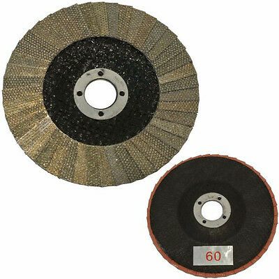 "Brand New Stonex Stonex Diamond Flap Disc - 100mm/4"" - 16mm Bore"