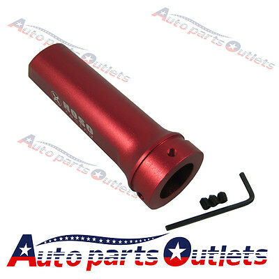 Red Racing  Car Aluminum Hand Brake Sleeve Handbrake Handle Hand Protect Cover