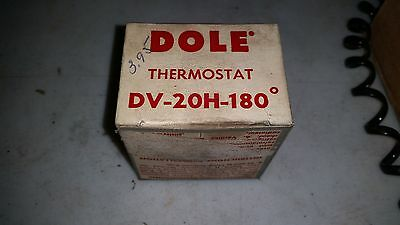 Dole Thermostat DV-20H-180 Degree  New Old Stock