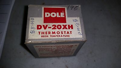 Dole Thermostat DV-20XH Degree  New Old Stock