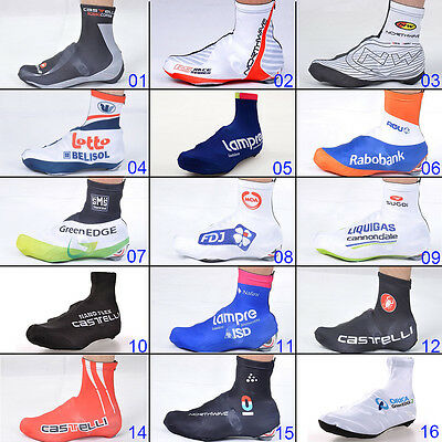 Bike MTB Racing Gear Bicycle Shoe Covers Cycling Zippered Protect Overshoes