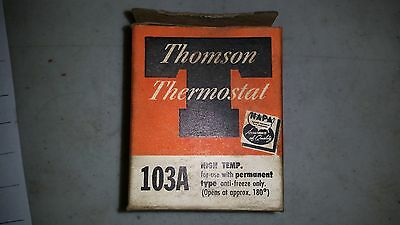 Thomson Thermostat 103A New Old Stock