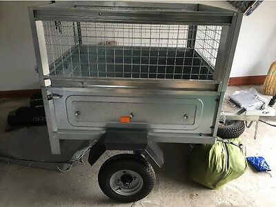 Hire - Erde 102 Mesh Side Trailer For Hire - Perfect For Camping & Skip/tip Runs