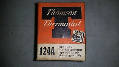 Thomson Thermostat 124A New Old Stock