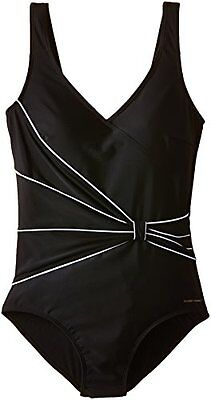 nero (Schwarz - Schwarz) (TG. 40) Nickey Nobel - 60.32.0003 Ladies Bathingsuit C