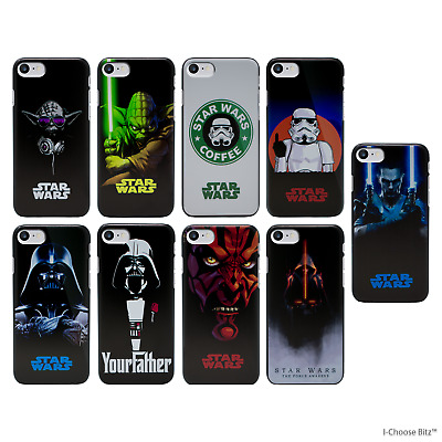Star Wars Coque/Etui/Case Pour iPhone 5/5s/SE/5c/6/6s/7/8 Plus / Dur Plastique