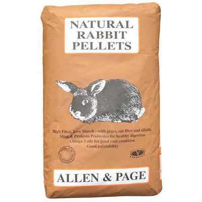Allen & Page Natural Rabbit Pellets Rabbit Food - 20kg Bag