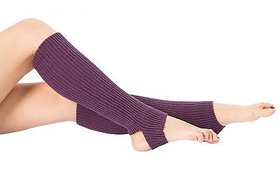 Toes Home Women Crochet Stirrup Leg Warmers Boot Cuffs Socks for Dance Yoga...