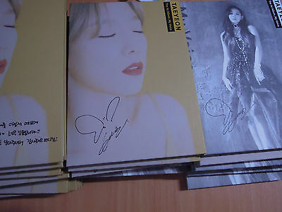 Taeyeon (SNSD) My Voice (1st Promo) with Autographed (Signed)