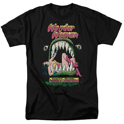 Wonder Woman Comic Cover JAWS OF THE LEVIATHAN T-Shirt All Sizes