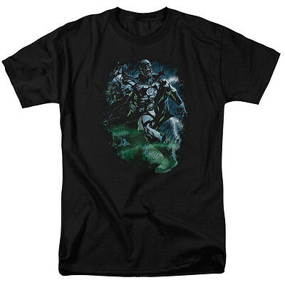 Green Lantern BLACK LANTERN BATMAN Licensed Adult T-Shirt All Sizes