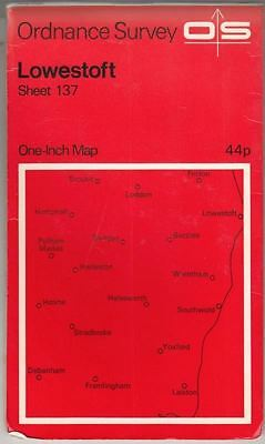 One Inch Map of Great Britain: Lowestoft. Sheet 137. : unknown