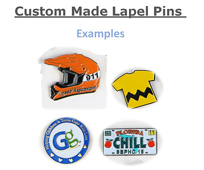 Custom Lapel Pin - Your company or Event 100 Lapel Pins