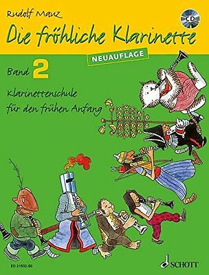 Partition pour clarinette - Die fröhliche Klarinette - Volume 2