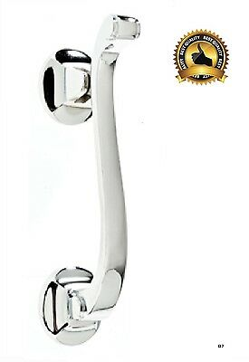 Doctor Door Knocker CHROME Heavy Duty Urn knocker Quality Traditional Style (D7)