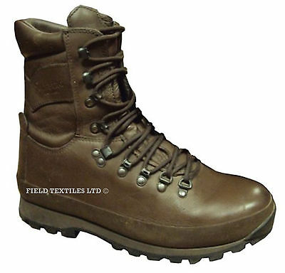 Altberg Defender Brown Boots - Grade 1 - Various Sizes Available - British Army