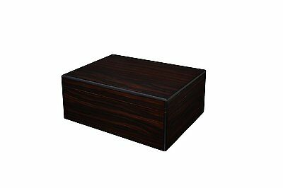 Orleans Group - 3005 Black Walnut Cigar Humidor - 40CT