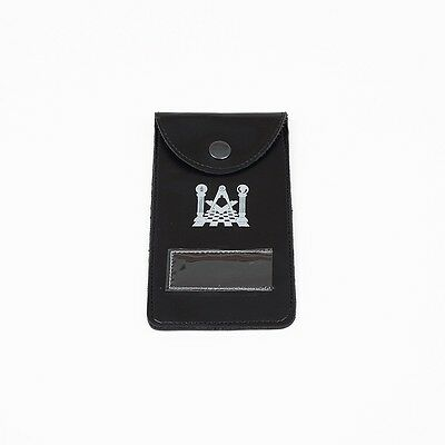 Masonic Pocket Jewel Holder and Carry Case / Wallet