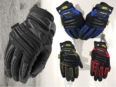 Mechanix Wear M-PACT 2 Tactical Gloves Military Work Race Sports mechanic army