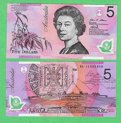 Australia 5 dollars Note P-57(h?)  UNCIRCULATED