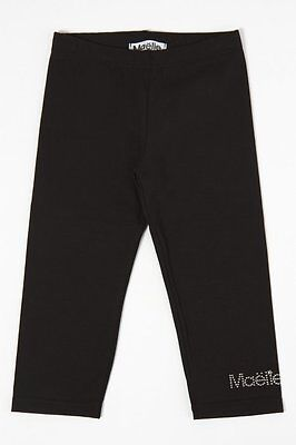 Maelie by Rubacuori Leggings Corto Bimba Nero #010250#2