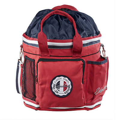Eskadron Classic Sports Accessorie/Grooming Bag - Pepper Red