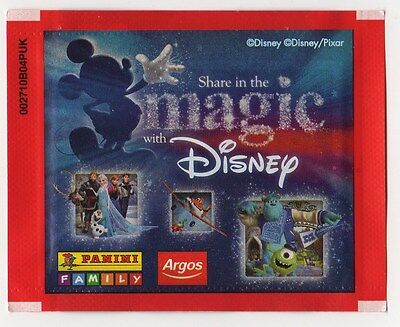 *Panini Disney Argos SHARE IN THE MAGIC Sticker Box 10 packets SEALED party gift