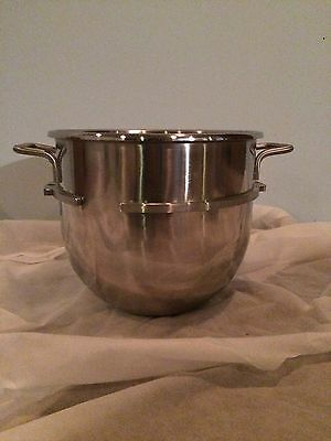 New 30 Quart Qt Stainless Steel Mixing Mixer Bowl for Hobart D300 D330