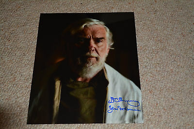 IAN MCELHINNEY signed Autogramm 20x25 cm In Person STAR WARS ROGUE ONE Dodonna