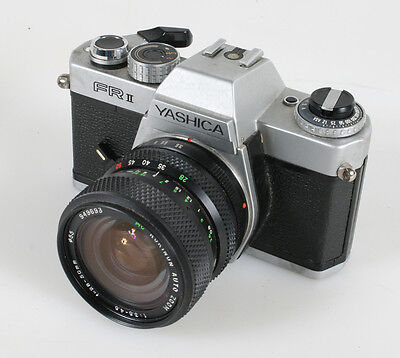 Yashica Fr Ii With 28-50Mm Rokinon Lens