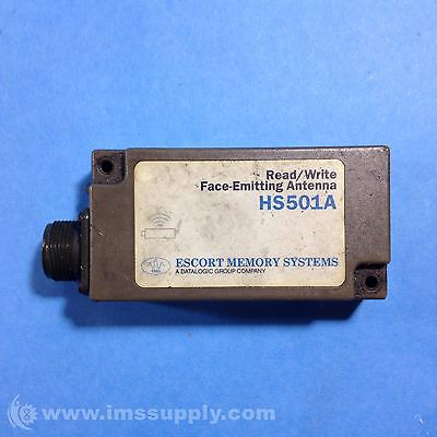 Escort Memory Systems Hs501A Read/Write Face-Emitting Antenna Usip