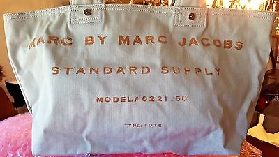 NWT$158 MARC by MARC JACOBS Standard Supply Classic Washed Denim Tote Beach Bag