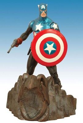Diamond Select Marvel Select Figur - Captain America Special Collectors Edition