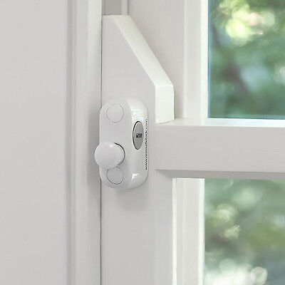 Remsafe Multibolt Double Hung Sash Window Lock White Keyed Alike