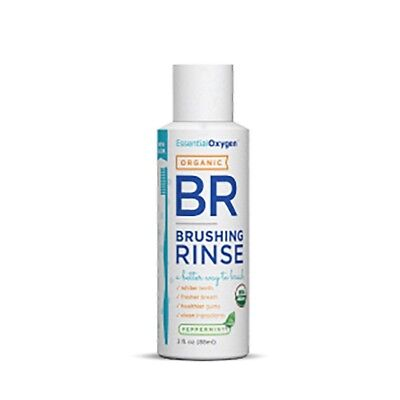 Essential Oxygen Peppermint Brushing Rinse (88ml)  | BRAND NEW
