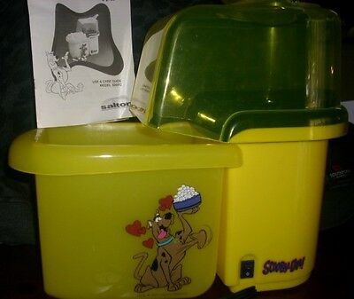Cartoon Network Scooby Doo Popcorn Maker Hanna Barbera Hot Air Popper machine