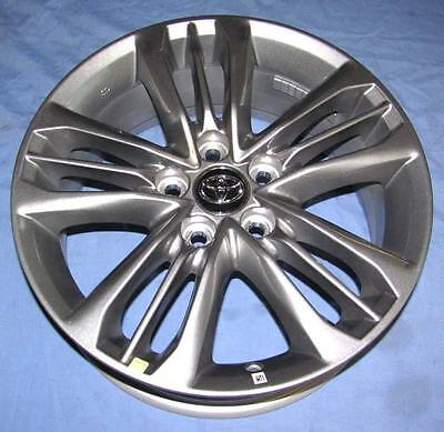 17 New Toyota Camry 2017 Oe Silver Wheels Set Of 4 17x7 Oem