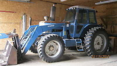 1981 Ford TW20 Tractor Loader